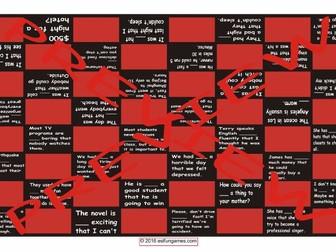 So versus Such Checker Board Game
