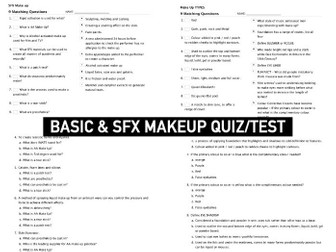 MAKEUP | Test Quiz