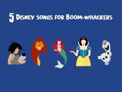 TUNED / BOOMWHACKER | 5 Disney songs