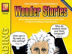 Wonder Stories (Reading Level 1)
