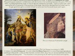 Leonardo da Vinci: Web Page, Quiz + Worksheets
