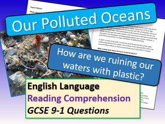 Polluted Oceans Reading Comprehension