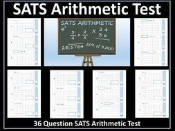 SATS Arithmetic Test