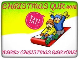 Home Schoolers Christmas Quiz