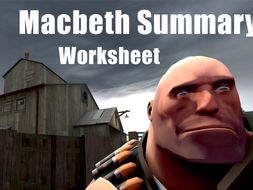 Macbeth Worksheet - Make Your Own Graphic Novel - Teaching Macbeth