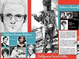 Zodiac - Serial Killer - Murders - California - Code Breaking - 90 Slides