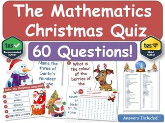 Maths Christmas Quiz! (Mathematics)