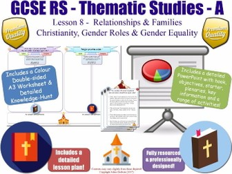 Christianity, Gender Roles, Gender Equality & Sexism [GCSE RS - Relationships & Families L8/10] A