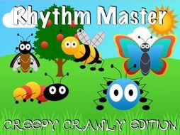 Rhythm Master - Creepy Crawly Edition