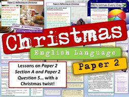 Christmas English Language Paper 2