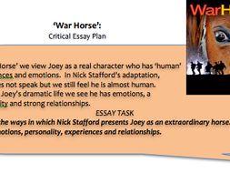 war horse essay