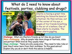 Drugs - Festivals + Parties
