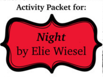 Mini-Activity Packet for Night