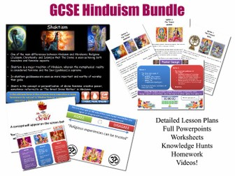 Diwali - Hindu Festivals - FULL LESSON - GCSE Hinduism (COMPLETE RESOURCES) (Divali Deepavali) KS4