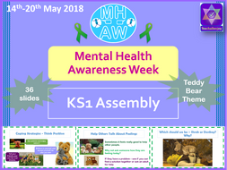 Mental Health Awareness Week 2018 KS1 Assembly