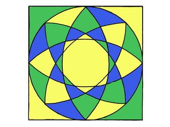 Colour by equivalent fractions decimals and percentages