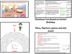 Picture A Christmas Flipchart.Christmas Plans Flip Chart Supporting Resources And Fun Activities