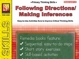 Following Directions / Making Inferences: Primary Thinking Skills