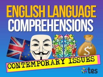 English Reading Comprehensions