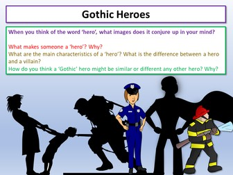 Gothic Characters Heroes
