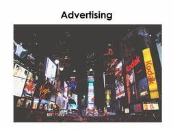 Starter For Ten Enterprise Project. Lesson Eleven - Advertising