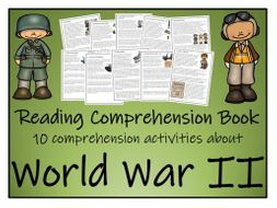 UKS2 History - World War II Collection Reading Comprehension Book