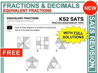 KS2 Maths (Equivalent Fractions)