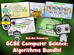 GCSE 9-1 Computer Science Algorithms Bundle