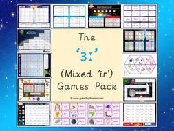 The Mixed 'ir' (ɜː) Phonics Games Pack