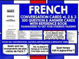 FRENCH SPEAKING PRACTICE MINI-BUNDLE #2