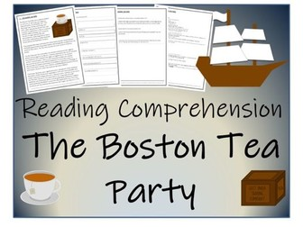 UKS2 History - The Boston Tea Party Reading Comprehension