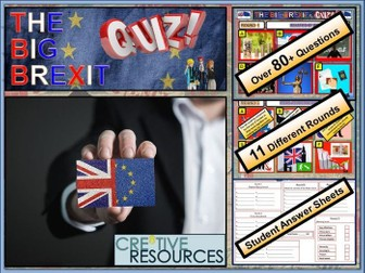 Brexit Day Quiz 2019