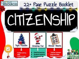 Christmas Citizenship Activities