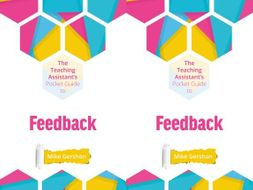 The TA's Pocket Guide to Feedback
