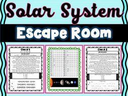 Solar System ESCAPE ROOM! - Earth Science - NO PREP, PRINT & GO!
