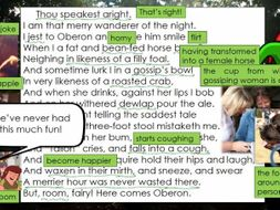 """Line by Line: A Midsummer Night's Dream, Puck's """"Thou speakest aright"""" (2.1)"""