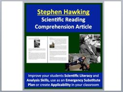 Stephen Hawking - A Famous Scientist Reading