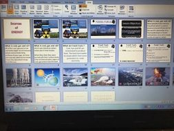 Fossil Fuels powerpoint - new D&T design and technology AQA GCSE syllabus