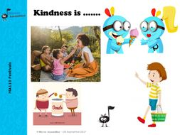 Random Acts of Kindness - Primary School Assembly Script and Presentation
