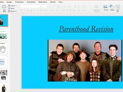 Parenthood revision- Child development