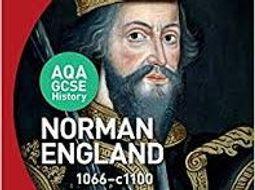 New AQA GCSE Norman England SOW part 1