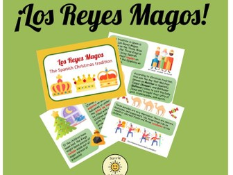 Los Reyes Mago- La historia y carta- The Three Wise Men- the story and writing a letter
