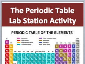 The periodic table 7 engaging lab station activities by the periodic table 7 engaging lab station activities by teachwithfergy teaching resources tes urtaz Images