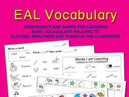 EAL VOCABULARY