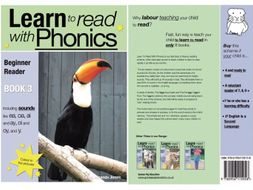 Learn to Read Rapidly with Phonics: Beginner Reader Book 3. A fun, colour in phonic reading scheme