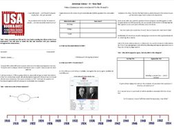 BBC American Voices - Ep4. New Deal - Supporting Worksheet