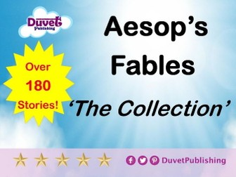 Aesop's Fables - 180+ short stories for you to cut/paste/edit into your own resources