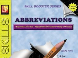 Abbreviations: Skill Booster Series