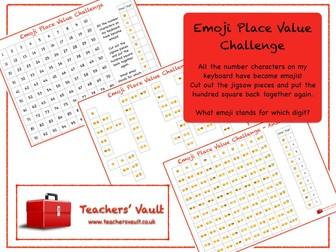 Emoji Place Value Challenge
