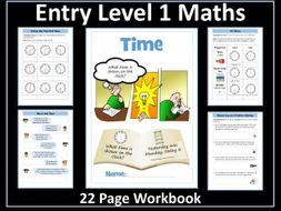 Time: AQA Entry Level 1 Maths